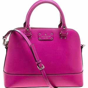 Kate Spade Hot Pink Large Rachelle Satchel